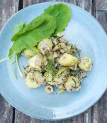 Makkelijke aardappelsalade