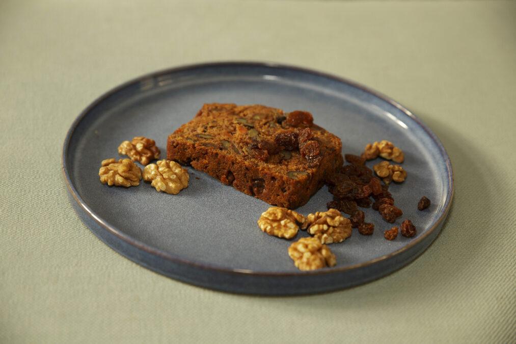 WORTEL WALNOTEN CAKE